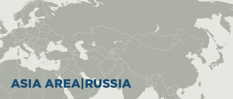 Asia area/Russia